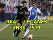 Nhận định bóng đá Real Madrid - Leganes: Siêu sao xuất trận, ngăn ngừa đại địa chấn