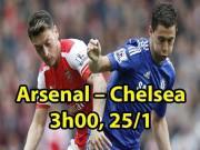 """Arsenal – Chelsea: Bày trận địa, """"sát thủ"""" rình rập"""