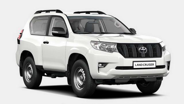 Toyota Land Cruiser rút gọn với 3 cửa, giá 1 tỷ đồng - 1