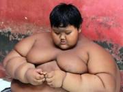 """Cậu bé béo nhất thế giới nặng gần 2 tạ  """" đổi đời """"  vì giảm cân"""