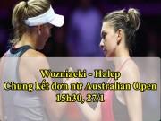Chung kết Australian Open 27/1: Halep - Wozniacki, giấc mơ có thật