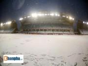 Sân Thường Châu tuyết dày 30cm, U23 Việt Nam đá U23 Uzbekistan có hoãn?