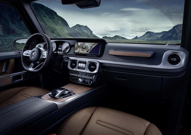 Chi tiết về Mercedes-Benz G-Class 2019 thế hệ mới - 2
