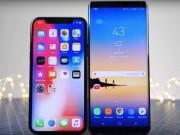 Giá trung bình smartphone tăng lên cũng chỉ vì… iPhone X và Galaxy Note 8