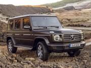 Chi tiết về Mercedes-Benz G-Class 2019 thế hệ mới
