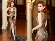 Thời trang - Váy mặc như không khoe đường cong nữ thần của Thu Thủy đẹp nhất tuần