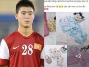 Thời trang - Hot boy Đỗ Duy Mạnh U23 Việt Nam từng bán quần áo ngủ cho chị em