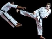 Thể thao - Cao thủ karate tẽn tò: Tung cước uy lực, tự làm mình vỡ mũi
