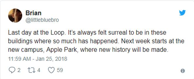 Trụ sở Apple Park bắt đầu đặt đem ra dùng dù chưa hoàn thiện - 1