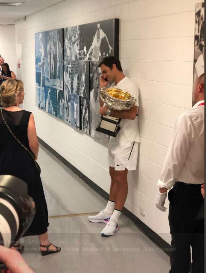 Federer vô địch Australian Open, lập 2 kỉ lục khiến Nadal – Djokovic nể sợ - 4