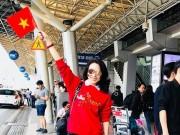 """Đời sống Showbiz - Mỹ Tâm """"đi bão"""" trên """"siêu xe"""" đúng như lời hứa để mừng U23 Việt Nam"""