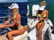 """Thời trang - Mỹ nhân mặc bikini câu cá điệu nghệ khiến chàng nào cũng muốn """"cắn câu"""""""