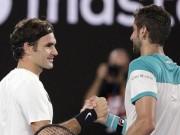 """Federer - Cilic:  """" Vị thần """"  bất tử, đỉnh cao chói lọi (Chung kết Australian Open)"""