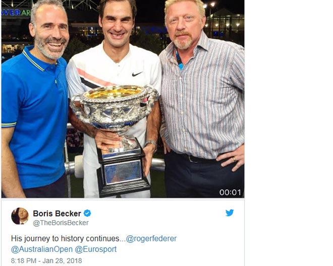 """Federer đoạt 20 Grand Slam: Vua 184 danh hiệu """"cúi đầu"""" nói là số 1 - 4"""