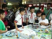 Sôi động chung kết cuộc thi   Khoa học ứng dụng First Lego League 2018