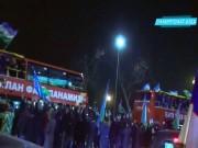 U23 Uzbekistan được đón chào ra sao khi trở về quê nhà?