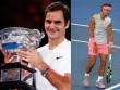 """Bảng xếp hạng tennis 29/1: Federer đoạt Australian Open, Nadal """"sống trong sợ hãi"""""""