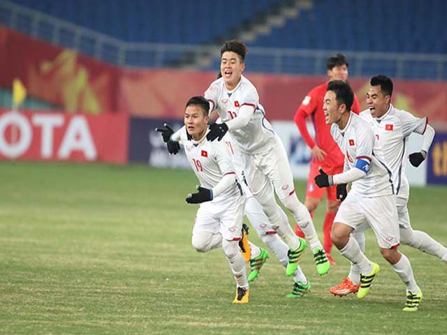"""U23 Việt Nam: 2 siêu phẩm Quang Hải thống trị """"Bàn thắng đẹp nhất châu Á"""" - 5"""