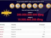 NÓNG: Kịch bản bất ngờ xảy ra với jackpot 1 vượt 300 tỉ của Vietlott