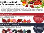 Sức khỏe đời sống - Sự kỳ diệu đến từ sắc màu của thực phẩm