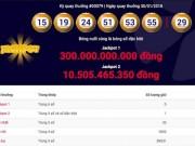 Vietlott thông tin chính thức vụ jackpot 1 lần đầu vượt 300 tỉ