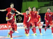 Lịch thi đấu bóng đá Việt Nam, giải Futsal châu Á 2018