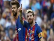 """Bóng đá - Tin HOT bóng đá tối 31/1: Sao Barcelona thú nhận """"thơm lây"""" từ Messi."""