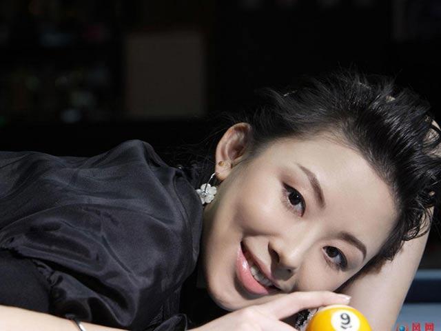 Nữ thần bi-a Trung Quốc: Người đẹp, đi cơ cũng đẹp