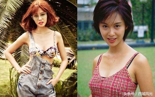 """Mới đây, trang 163 của Trung Quốc bất ngờ đăng tải hình ảnh so sánh giữa Linh Chi và nữ diễn viên Hong Kong nổi tiếng Chu Ân. Truyền thông Trung Quốc gọi Linh Chi là  """" đệ nhất mỹ nữ Việt Nam """"  và khen cô giống tình cũ Châu Tinh Trì đến 80%.  """" Thậm chí, ở một số góc chụp trông cô ấy giống tới hơn 90% """" , tờ 163 nhận xét."""