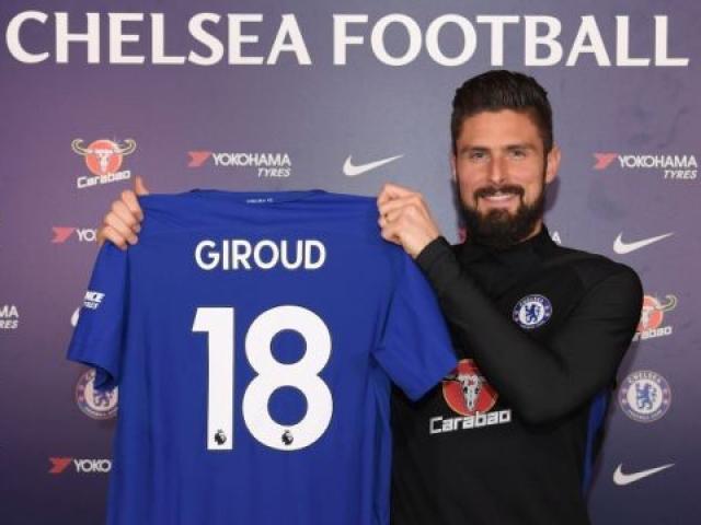 Chuyển nhượng mùa đông ngày cuối: Chelsea chốt Giroud, Mahrez vỡ mộng Man City