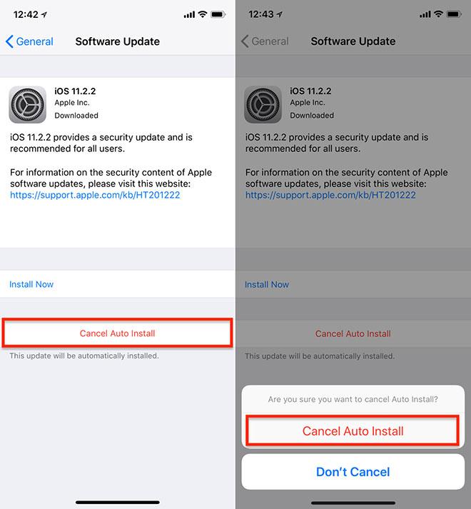 Cách thiết lập ngừng cập nhật phần mềm tự động trên iPhone - 2