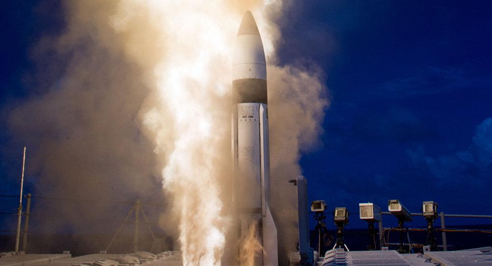 """Tên lửa Mỹ """"chuyên"""" chặn tên lửa Triều Tiên bắn thử bị trượt mục tiêu - 1"""
