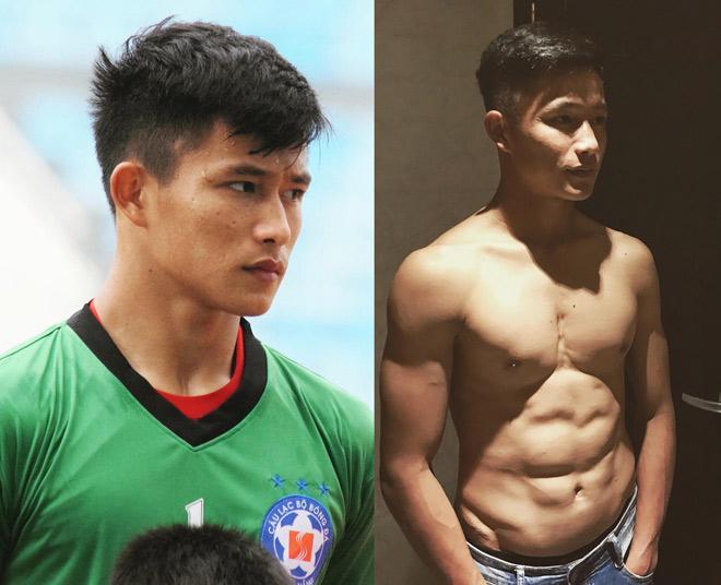 Thủ môn 6 múi SHB Đà Nẵng tiết lộ thực tế tập hình thể của cầu thủ - 1