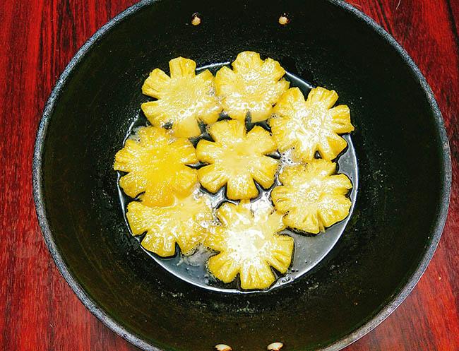 Cách làm mứt dứa chua ngọt dẻo mềm không nát - 5