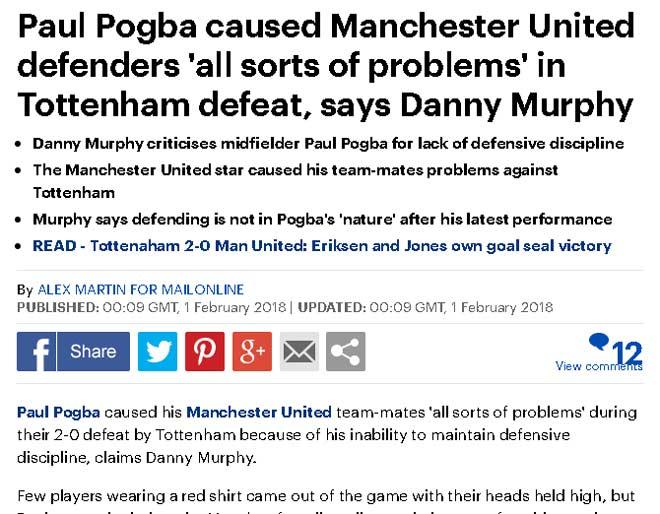 """MU thua, báo chí cười nhạo Mourinho, nghi Sanchez là """"gian tế"""" - 2"""