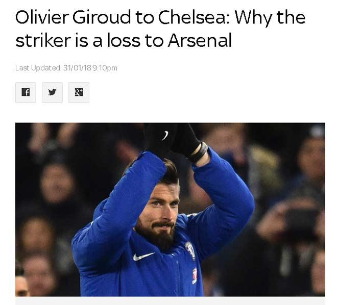 Chelsea gây sốc Giroud 18 triệu bảng: Triệu fan mơ đá bọ cạp hạ Messi – Barca - 1