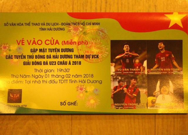 Lễ vinh danh 4 tuyển thủ U23 Việt Nam quê Hải Dương diễn ra như thế nào? - 4