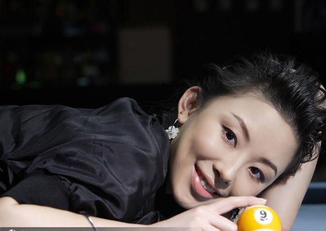 Nữ thần bi-a Trung Quốc: Người đẹp, đi cơ cũng đẹp - 2