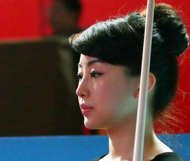 Nữ thần bi-a Trung Quốc: Người đẹp, đi cơ cũng đẹp - 5