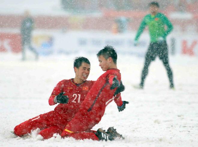 """U23 Việt Nam: 2 siêu phẩm Quang Hải thống trị """"Bàn thắng đẹp nhất châu Á"""" - 1"""