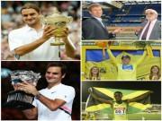Federer, ngày Vua trỗi dậy: Zidane vẫn là cầu thủ, U.Bolt chưa ra ánh sáng