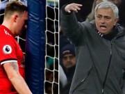"""Bóng đá Ngoại hạng Anh - MU gục ngã: Mourinho nổi điên với hàng thủ, vẫn khen """"thảm họa"""" Sanchez"""
