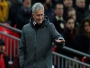 """Bóng đá Ngoại hạng Anh - MU hết cửa Ngoại hạng Anh: Mourinho """"đánh bạc"""" với Champions League"""