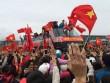 Vinh danh U23 VN ở Hải Dương: Văn Thanh tái hiện ăn mừng kinh điển
