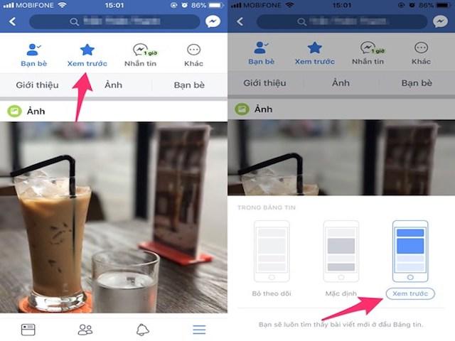 Cách ưu tiên bài viết yêu thích trên Facebook