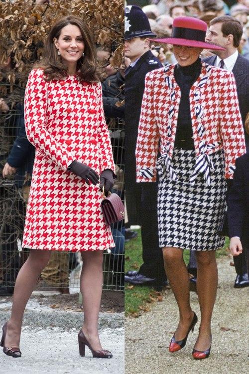 Công nương Kate ngày càng mặc giống mẹ chồng Diana - 2