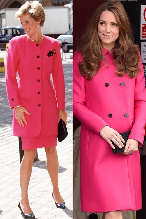 Công nương Kate ngày càng mặc giống mẹ chồng Diana - 3