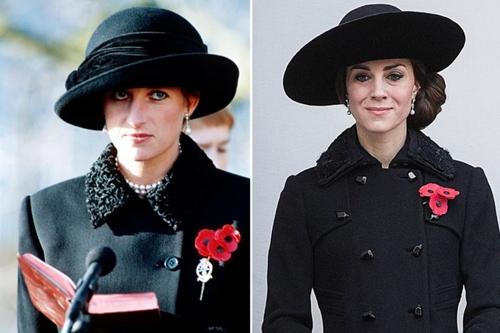 Công nương Kate ngày càng mặc giống mẹ chồng Diana - 4