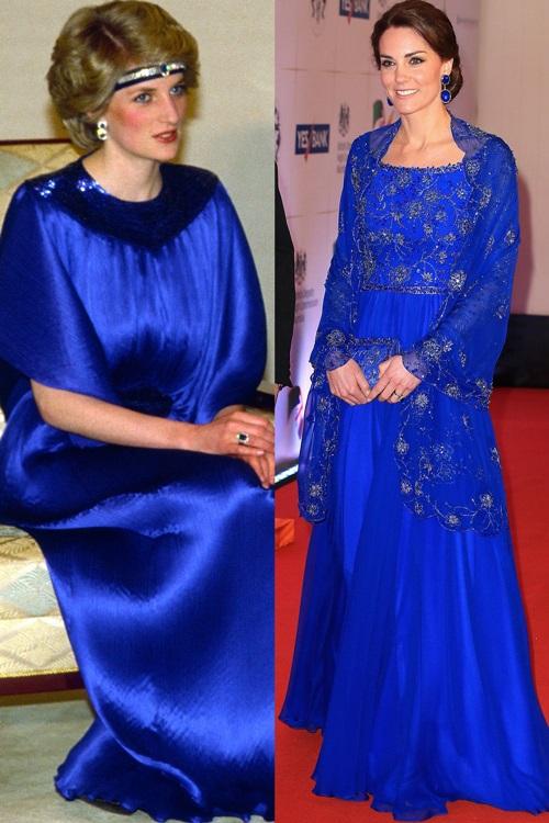 Công nương Kate ngày càng mặc giống mẹ chồng Diana - 8