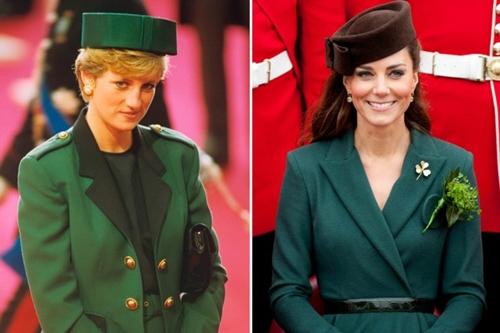 Công nương Kate ngày càng mặc giống mẹ chồng Diana - 5